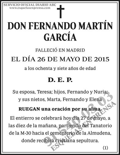Fernando Martín García
